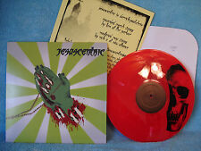 Jesuscentric, TOR Johnson Records, TJR014, Red Marble Vinyl, Limited Ed. 3/96