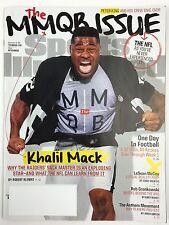 Sports Illustrated Magazine 9/19/2016 Khalil Mack Oakland Raiders MMQB Issue