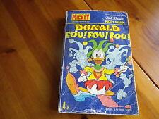 MICKEY PARADE n° 1182 bis de 1975 DONALD FOU FOU FOU bon état