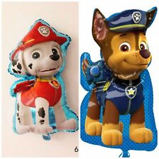 "31"" Paw Patrol Puppy CHASE,MARSHAL Helium Children's Party Foil Birthday Balloon"
