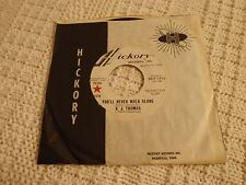 B J THOMAS  YOU'LL NEVER WALK ALONE/CHAINS OF LOVE HICKORY 1415 SUNSET CARSON M-
