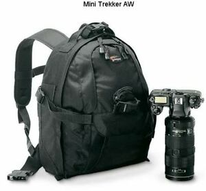 Brand New LowePro Mini Trekker AW DSLR Camera Bag Backpack Laptop Case Rucksack