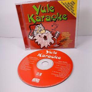 Yule Karaoke  Various Sing-A-Long Xmas Vocal 1 Disc CD Lyric Sheet Included