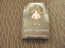 Game of Knowns by Karl Kruszelnicki (Hardback, 2013) SCIENCE IS COMING - CHEAP