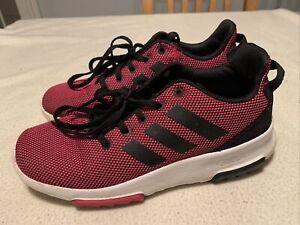 Women's Adidas Cloud Foam Running Fitness Trainers Size Uk 4