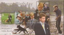 Falkland Islands - 2000 Pr. William Birthday - 5 Stamp Sheet #766