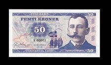 50 kroner Svalbard Norway 2015 UNC Roald Amundsen UNC SPECIMEN Test Banknote