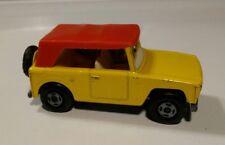 Vintage Lesney Matchbox #18 Yellow Superfast Field Car 1970