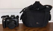 Canon PowerShot SX20 IS 12.1MP Digital Camera - Black + FREE Bag