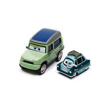 Mattel Disney Pixar Cars 2 Miles Axlerod & Professor Z 1:55 Metal Diecast Loose