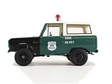 GREENLIGHT 1/18 New York POLICE FORD Bronco 1967 NYPD