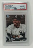 2018 Bowman Chrome Luis Robert 1st Card Rookie PSA 10 Gem Mint Chicago White Sox