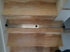 """Unique Stainless Steel Stairwell Stair Making Tread Bevel Large Capacity 55"""""""