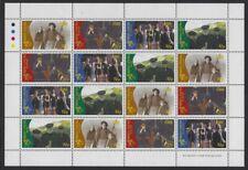 Ireland 1996 Irish Movies sheet 4/strips Sc# 1031a NH