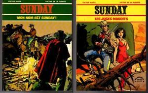 2 French Graphic Novels SUNDAY