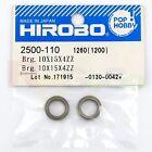 Hirobo 2500-110 Ball Bearing 10x15x4mm (2 pcs) #6700ZZ Helicopter Parts