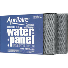 Genuine Aprilaire 45 Humidifier Water Panel Filter 2 PACK for Aprilaire 400 NEW