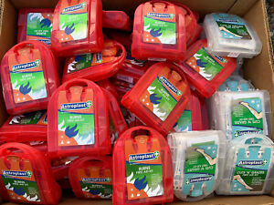 Wholesale Joblot Of 108 ASTROPLAST FIRST AID KITS  2 Types 54 Of Each