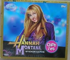 Disney's Hannah Montana Topps Sticker Cards Gift Set - New & Boxed