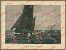 Claus Bergen U-Boot Feindfahrt England Nordsee Kaiserliche Marine Seekrieg 1915