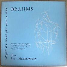 Makanowitzky / Lee / Brahms sonatas - Lumen -
