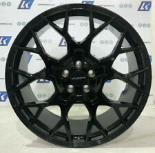 "22"" VELOCITY BLACK ALLOY WHEELS & TYRES FIT RANGE ROVER SPORT VOGUE DISCOVERY"