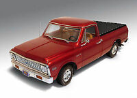 1:18 Highway 61  - 1972 Chevy C-10 Pick-Up Burgundy #50906