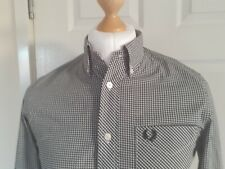 """FRED PERRY  SIZE. SMALL 38"""" CHEST . LONG SLEEVE SHIRT 100% GENUINE"""