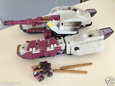 ☀ 2002 Transformers Armada GALVATRON w/ Clench Mini-Con, Missiles, Instruction
