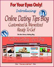 Online Dating Blog Website Self Update Amazon Clickbank