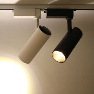LED COB Ceiling Lights Fixtures Rail Track Lighting Picture Lamp Jewelry Store