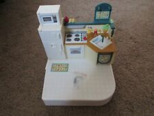 Fisher-Price Loving Family Doll House Replacement Kitchen with Floor