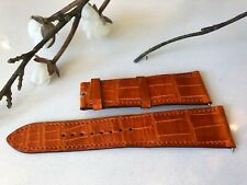 Hermes H Hour Watch Strap in Orange