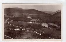 BALMORAL CASTLE FROM CRAIGNORDIE: Aberdeenshire postcard (C12671)
