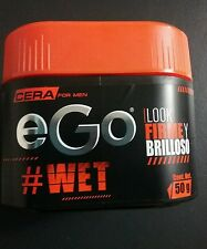 EGO HAIR WAX FOR MEN # WET----- EGO CERA PARA EL CABELLO LOOK FIRME Y FABULOSO