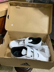 Adidas AltaSport CF K White & Black Sneakers NIB Size 1.5
