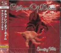 CHILDREN OF BODOM SOMETHING WILD JAPAN 2012 RMST CD+2 & ENHANCED VIDEO BRAND NEW