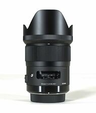 SIGMA 35mm F1.4 DG HSM 'ART SERIES' LENS NIKON MOUNT & BONUS 32GB SANDISK SD