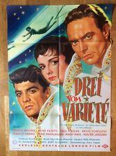 Drei vom Varieté (Kinoplakat '54) - Ingrid Andree / Paul Dahlke