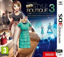 Style boutique 3 styling Star Nintendo 3DS