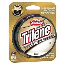 Berkley Trilene 100% Fluorocarbon Clear 200yd Fly Fishing leader Line