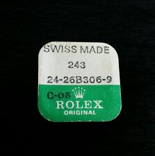 Rolex White Gold Crown, Part # 243  24-26B306-9, sealed - never open container.
