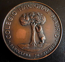 554-INDALO- España - Barcelona 1970 - Colegio Nacional Madrid - Rara !!!!!!!!!!!
