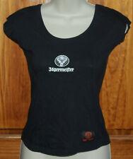 Jagermeister Logo Bar Shirt Black Womens Small No Sleeves