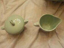 boonton made in usa mint green creamer and sugar