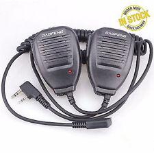 2pcs Handheld Speaker Mic for BaoFeng Uv-5R Uv-3R+ Bf666 s Two-Way Radio Pofung~