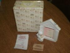 "Precious Moments Picture Frame 1981 J&D ""The Purr-Fect Grandma"" E-7242 w/Box-Nos"