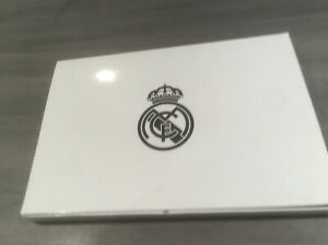 Real Madrid Scarf And Pin In a Display Box