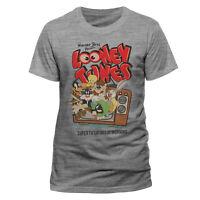 Looney Tunes Retro TV T Shirt Official Classic Cartoon Mens Unisex NEW S M L