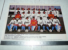 CLIPPING POSTER FOOTBALL 1987-1988 US DUNKERQUE USD